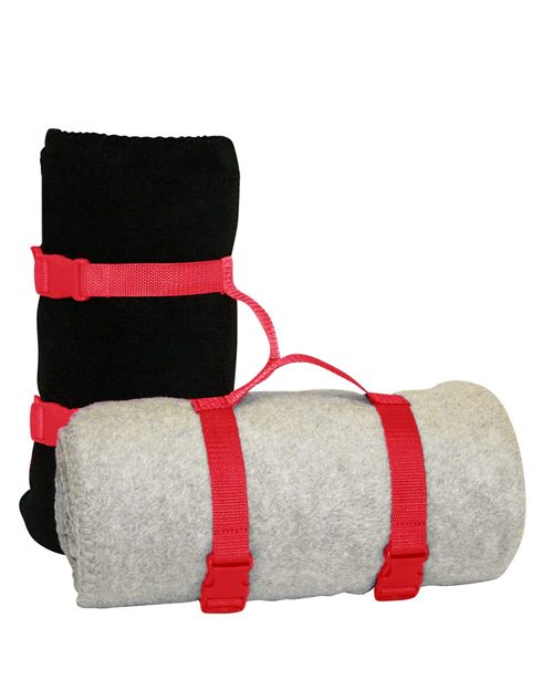 Alpine Fleece 8820 Blanket Strap Model Shot