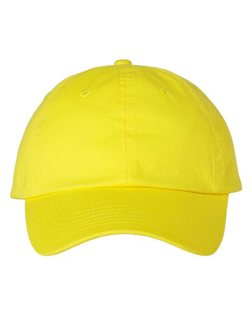 Valucap VC300A Adult Bio-Washed Classic Dad's Cap Model Shot