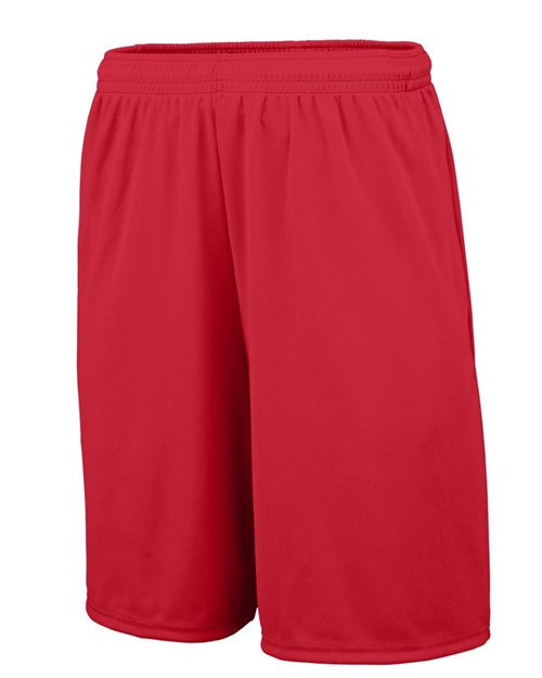 Augusta Sportswear 1429 Youth Training Shorts with Pocket Model Shot