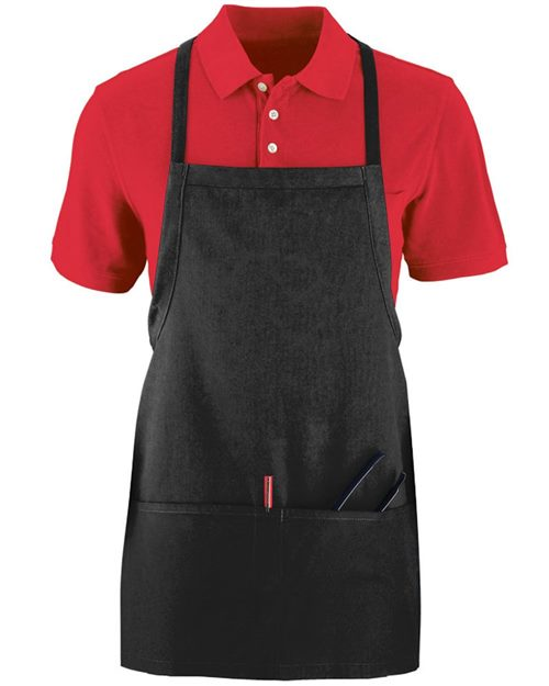 Augusta Sportswear Tavern Apron with Pouch