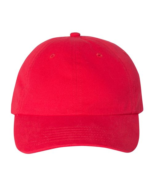 Valucap VC200 Brushed Twill Cap Model Shot