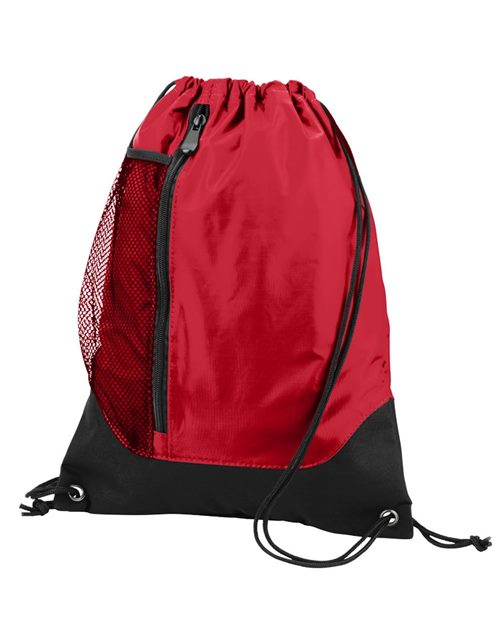 Augusta Sportswear 1149 Tres Drawstring Backpack Model Shot