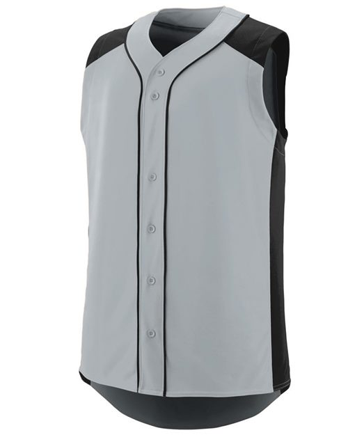 Augusta Sportswear 1663 Youth Sleeveless Slugger Jersey Model Shot
