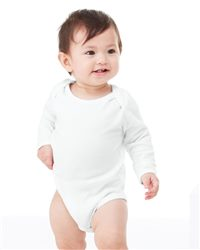 Bella + Canvas Infant Baby Long Sleeve Thermal Creeper