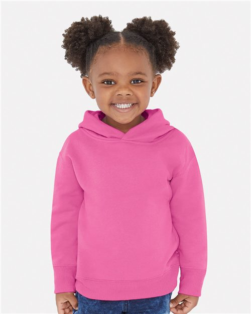 Rabbit Skins 3326 Toddler Pullover Fleece Hoodie Model Shot