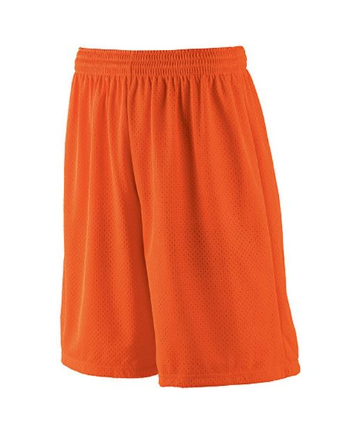 Augusta Sportswear 849 Youth Long Tricot Mesh Short/Tricot Lined Model Shot
