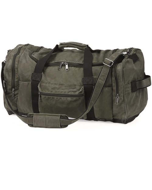 DRI DUCK 1040 60L Expedition Duffel Bag Model Shot