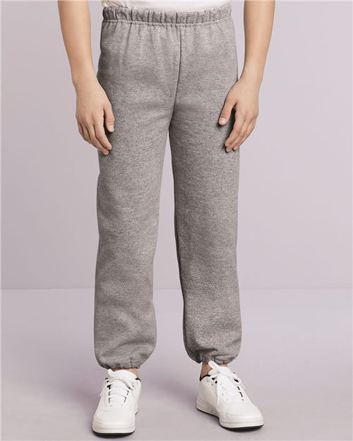 Gildan 18200B Heavy Blend™ Youth Sweatpants Model Shot