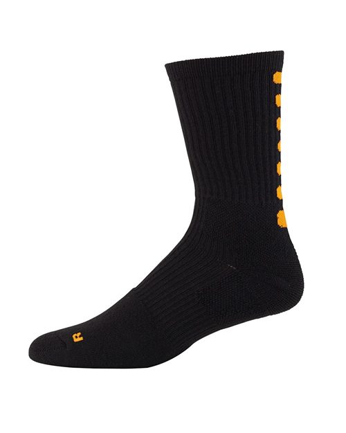 Augusta Sportswear 6090 Youth Color Block Crew Sock Model Shot