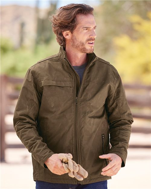 DRI DUCK 5066 Sequoia StormShield™ Canvas Jacket Model Shot