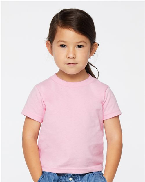 Rabbit Skins 3301T Toddler Cotton Jersey Tee Model Shot