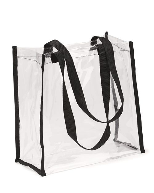 OAD OAD5004 Clear Value Tote Model Shot