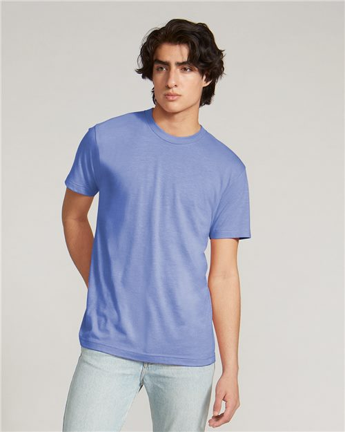 American Apparel TR401W Triblend Track Tee Model Shot
