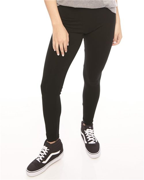 American Apparel 8328W Leggings de jersey de spandex para mujer Model Shot