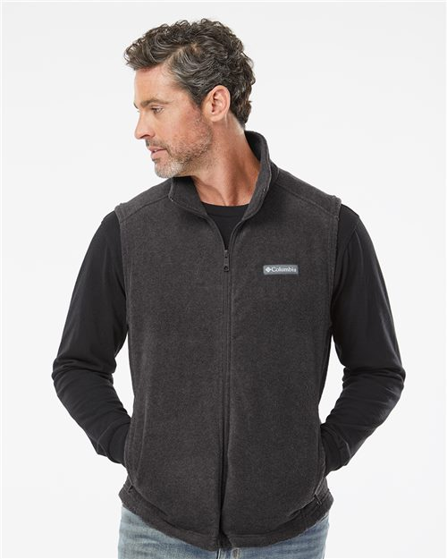 Columbia 163926 Steens Mountain™ Fleece Vest Model Shot