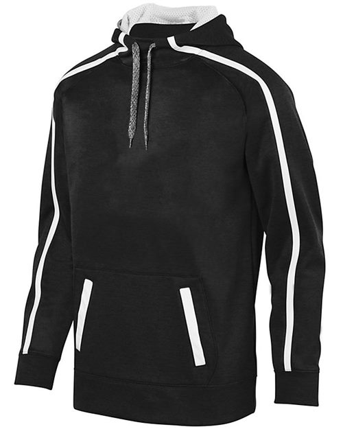 Augusta Sportswear 5555 Youth Stoked Tonal Heather Hoodie Model Shot