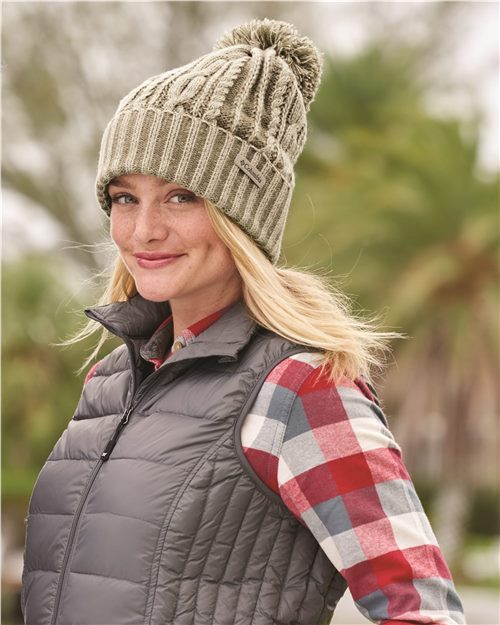 Columbia 174956 Blizzard Pass Beanie Model Shot