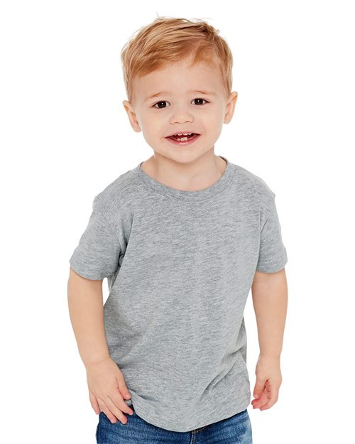 Next Level 3110 Toddler Cotton Crew Model Shot