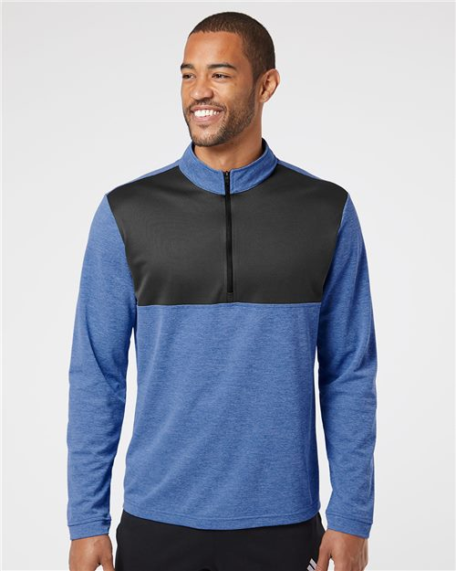 Adidas A280 Lightweight Quarter-Zip Pullover Model Shot