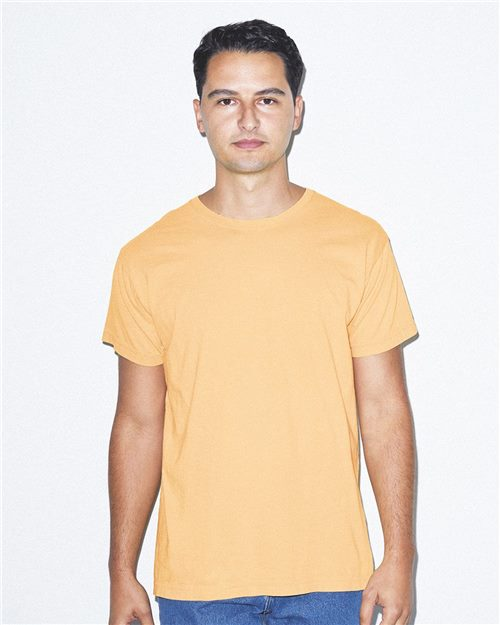 American Apparel 2011W Unisex Power Wash Tee Model Shot