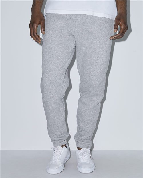 American Apparel HVF4530W Unisex Mason Fleece Gym Pants Model Shot