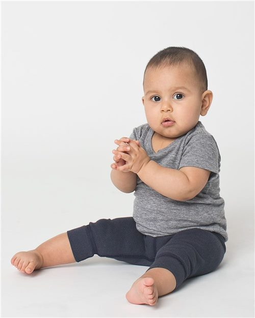 American Apparel TR005W Infant Triblend Tee Model Shot