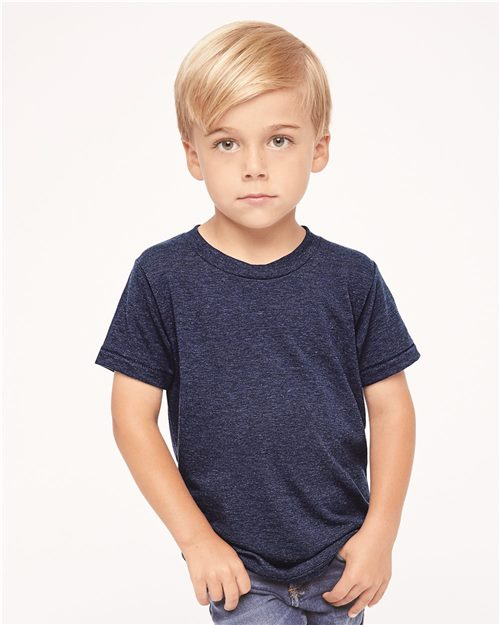 American Apparel TR101W Toddler Triblend Tee Model Shot