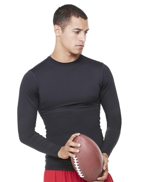 All Sport M3003 Long Sleeve Compression T-Shirt Model Shot