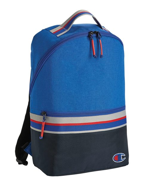 Champion CS1006 23L Striped Backpack Model Shot
