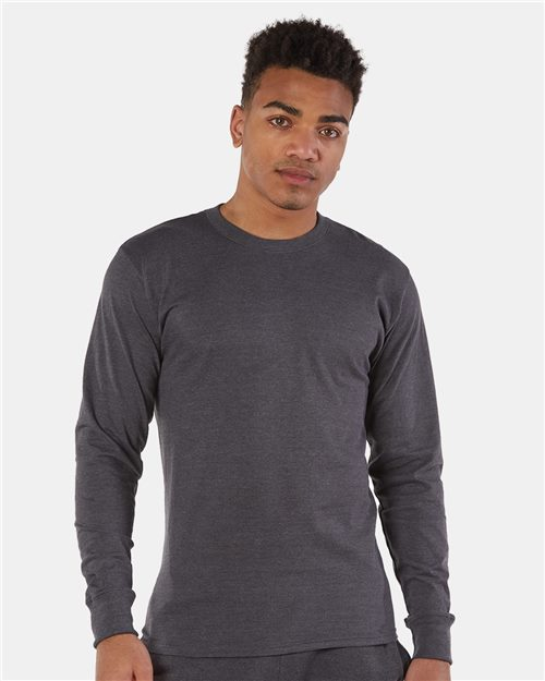 Champion CP15 Premium Fashion Classics Long Sleeve T-Shirt Model Shot