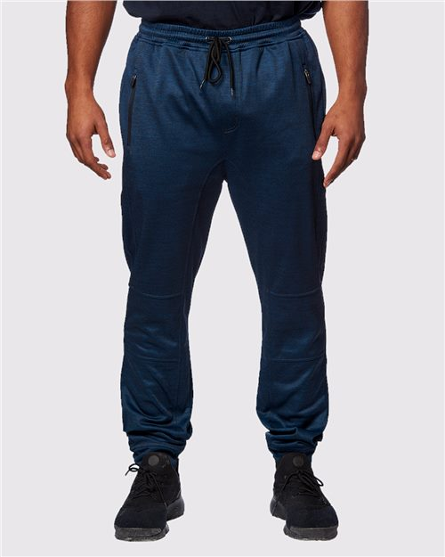 Burnside 8801 Performance Fleece Joggers Model Shot