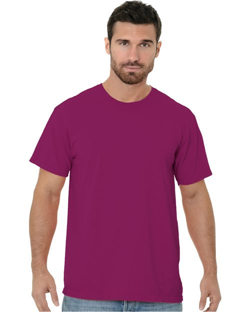 Bayside 9515 Garment Dyed Crew T-Shirt Model Shot