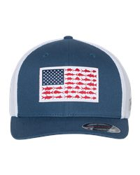 Columbia PFG Fish Flag Mesh™ Flexfit Cap
