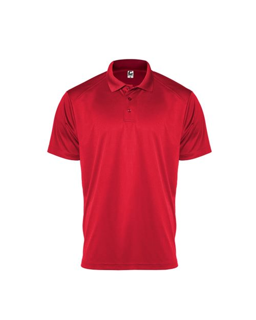 C2 Sport 5901 Youth Utility Polo Model Shot