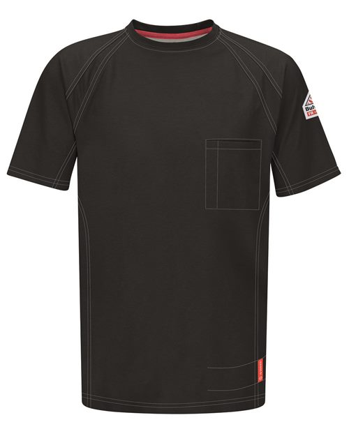 Bulwark QT30 iQ Series® Short Sleeve Tee Model Shot