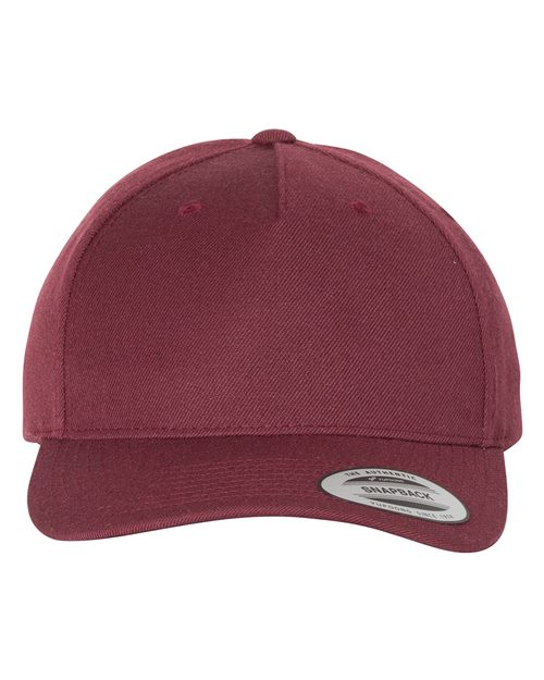 Yupoong 5789M Classics™ Wool Blend Cap Model Shot