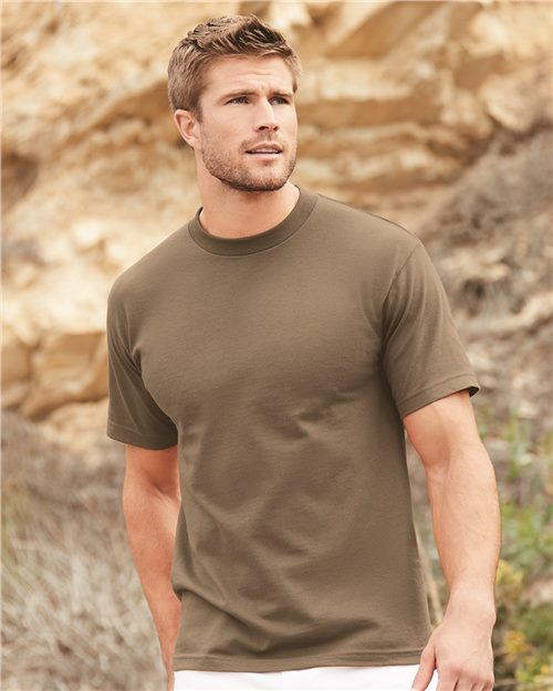 ALSTYLE 1301 Classic Short Sleeve T-Shirt Model Shot