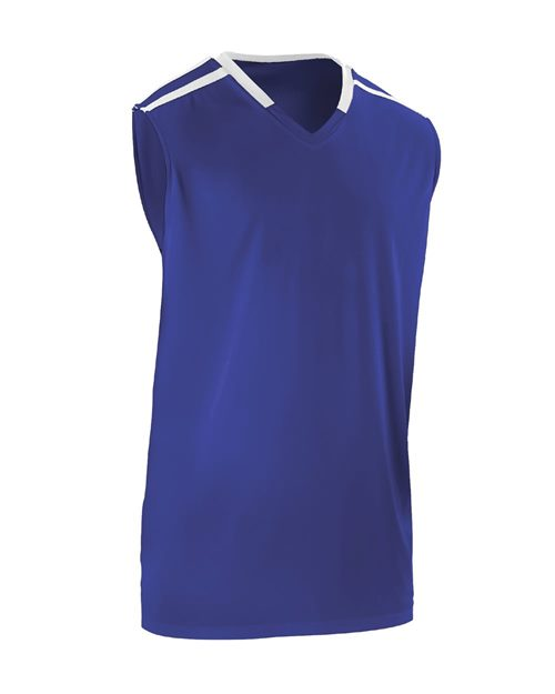 Alleson Athletic A00153 Reversible Basketball Jersey Model Shot