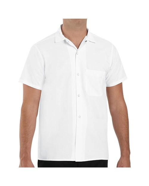 Chef Designs 5028 80/20 Poplin Cook Shirt Model Shot