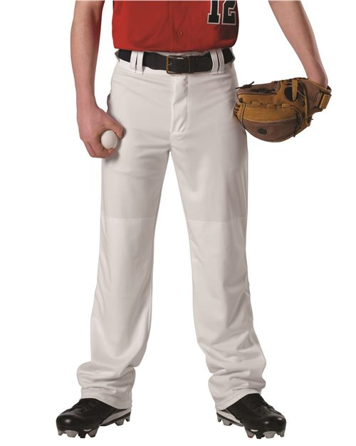 Alleson Athletic A00032 Adjustable Inseam Baseball Pants Model Shot