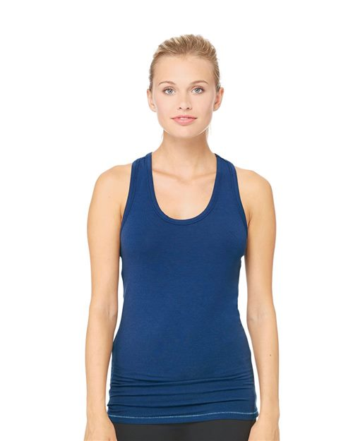 All Sport W2006 Tank Racerback Bamboo para mujer Model Shot