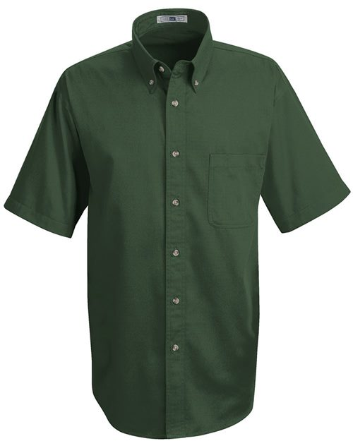 Lee 1T22L Meridian Short Sleeve Performance Twill Shirt Long Sizes Model Shot