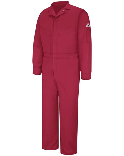 Bulwark CLD6LEXT Deluxe Coverall - EXCEL FR® ComforTouch® - 7 oz. Long - Extended Sizes Model Shot