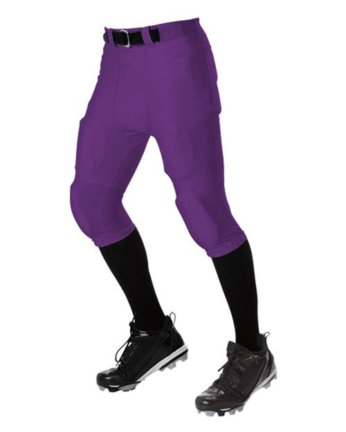 Alleson Athletic A00180 Youth No Fly Football Pants With Slotted Waist Model Shot