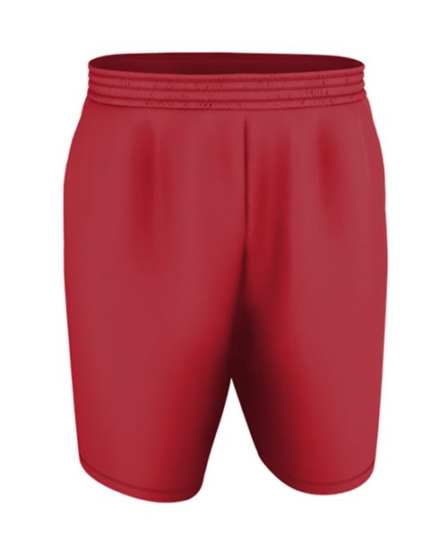 Alleson Athletic N00010 Youth Blank Game Shorts Model Shot