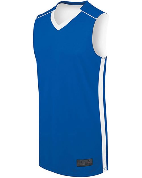 Augusta Sportswear 332401 Youth Competition Reversible Jersey Model Shot