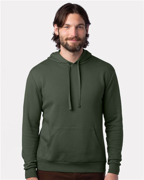 Alternative 8804PF Easy Eco-Fleece Go-To Pullover Hoodie Model Shot