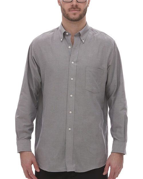 Van Heusen 18CV040 Oxfort Shirt Model Shot